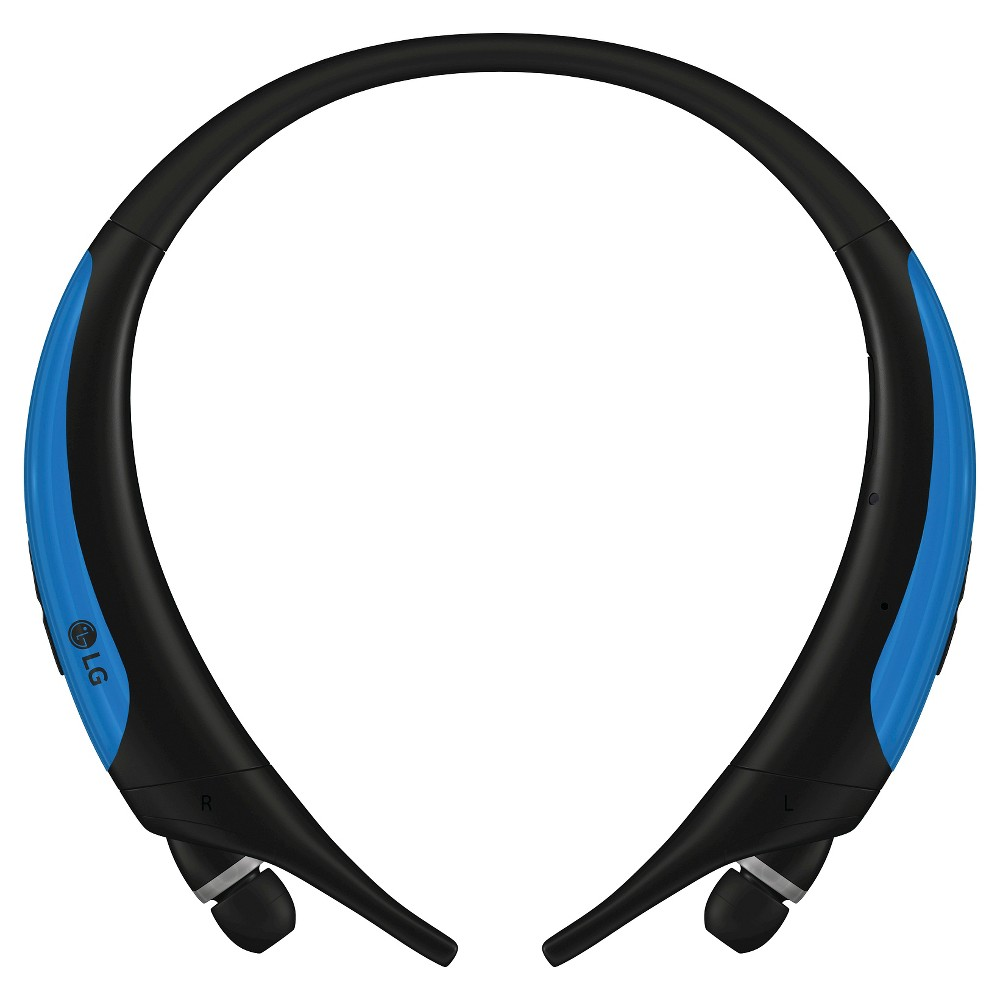LG Tone Active Behind-the-Neck Headphones Blue, Black