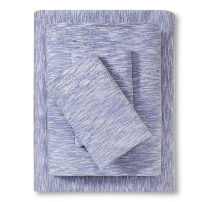 Jersey Sheet Set (King)Sapphire - Room Essentials™