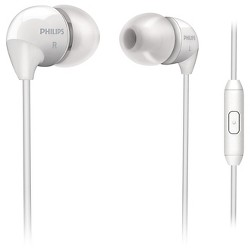 Philips® In-Ear Headphone with mic White