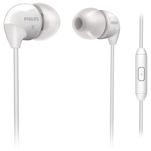 Philips® In-Ear Headphone with mic White - image 1 of 4