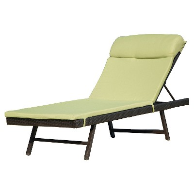 Hanover Outdoor Chaise Lounge Chair ...  Patio Chaise Lounge Chair