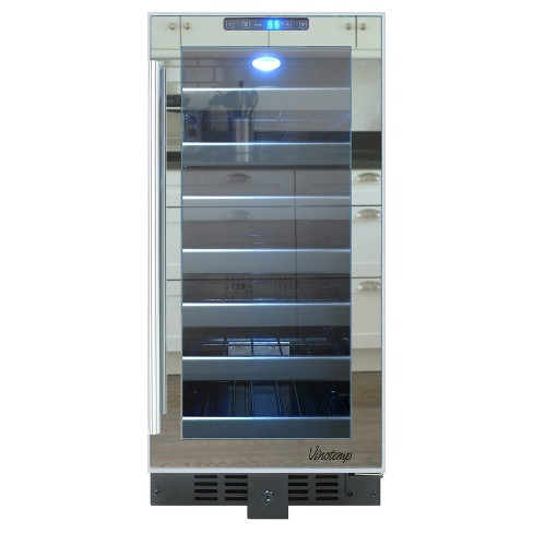 Vinotemp 33-Bottle Touch Screen Wine Cooler - Black VT-32TSFE - image 1 of 4