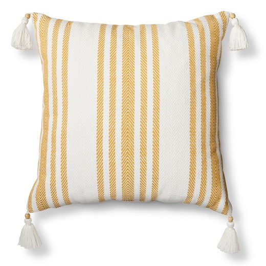 Throw Pillows Target : Woven Striped Throw Pillow - Threshold : Target