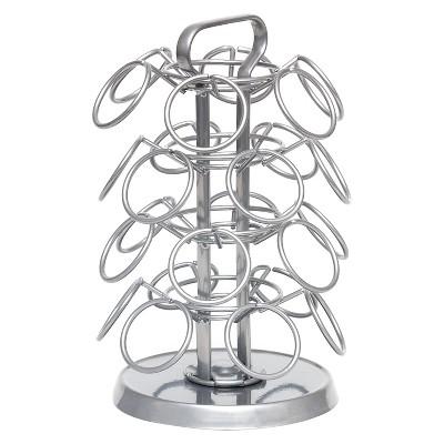 Lipper International Revolving Coffee Carousel - 24 Single Setve Pods