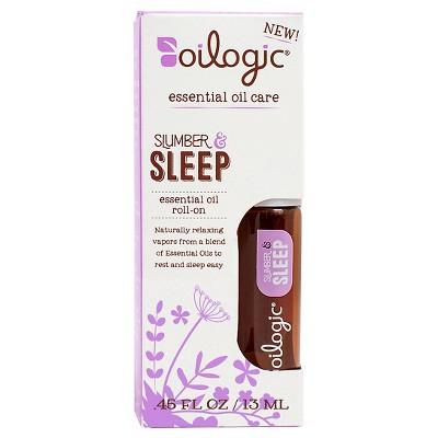 Oilogic Slumber & Sleep Essential Oil Roll-on - 0.45oz (13 ml)