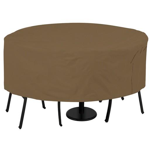 Patio Table & Chair Cover Maverick Brown Threshold Tar