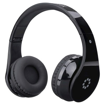 memorex wireless bluetooth headphones with touch control black target. Black Bedroom Furniture Sets. Home Design Ideas