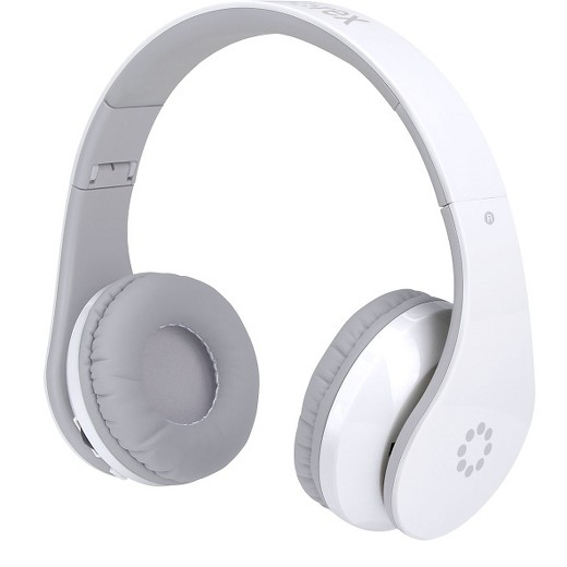 memorex wireless bluetooth headphones with touch control white target. Black Bedroom Furniture Sets. Home Design Ideas