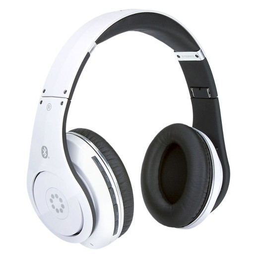 memorex wireless bluetooth headphones white target. Black Bedroom Furniture Sets. Home Design Ideas