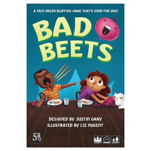 Stone Blade Ent Bad Beets Card Game - image 1 of 6