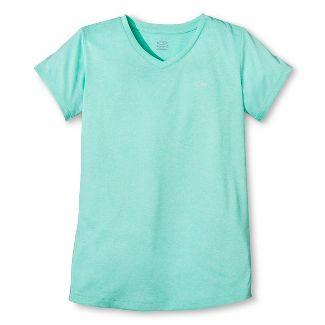 Girls Heather Tech T-Shirt Spring Forward Gr