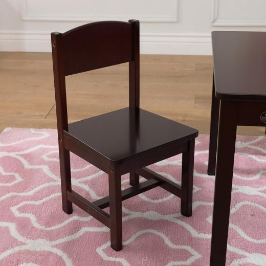 Farmhouse Table 4 Chair Espresso KidKraft Tar