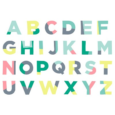 Oh Joy!® Wall Decals - ABC