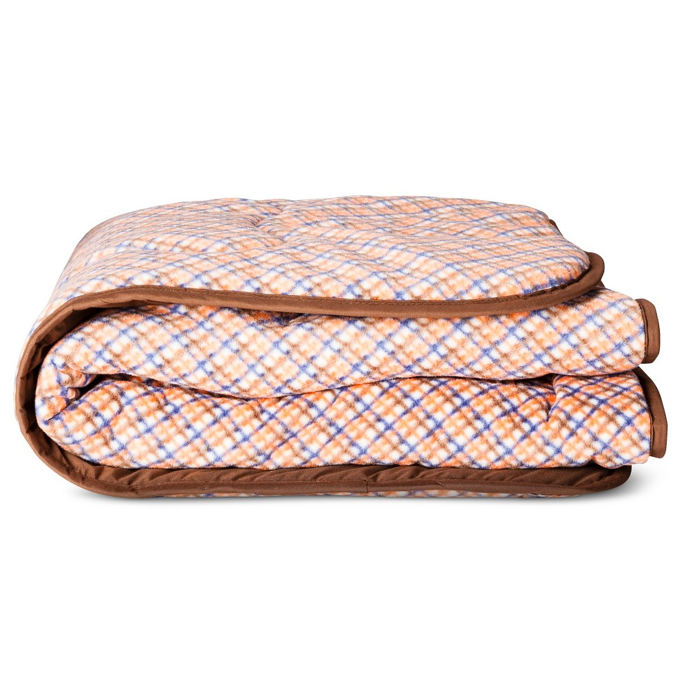 "Territory Microfiber Travel Blanket - Brown (31"" x 38"")"
