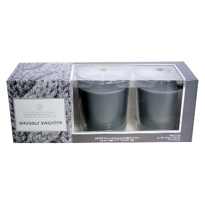 3ct Votive Candle Gift Set Tahitian Vanilla - Home Scents by Chesapeake Bay Candle®