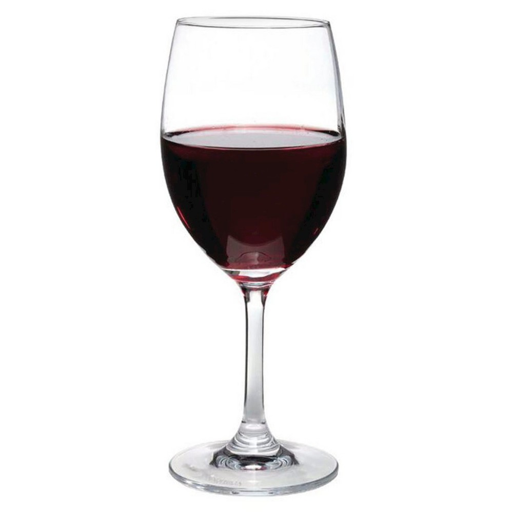 Oenophilia Perfect Stemware, Red Wine Glass, Set of 6, Clear