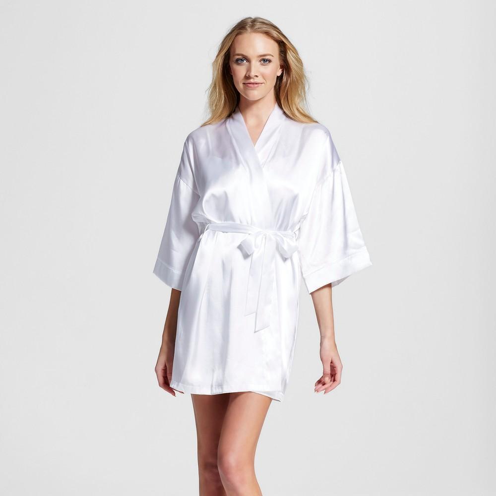 Womens Bridal Robe White XS/S