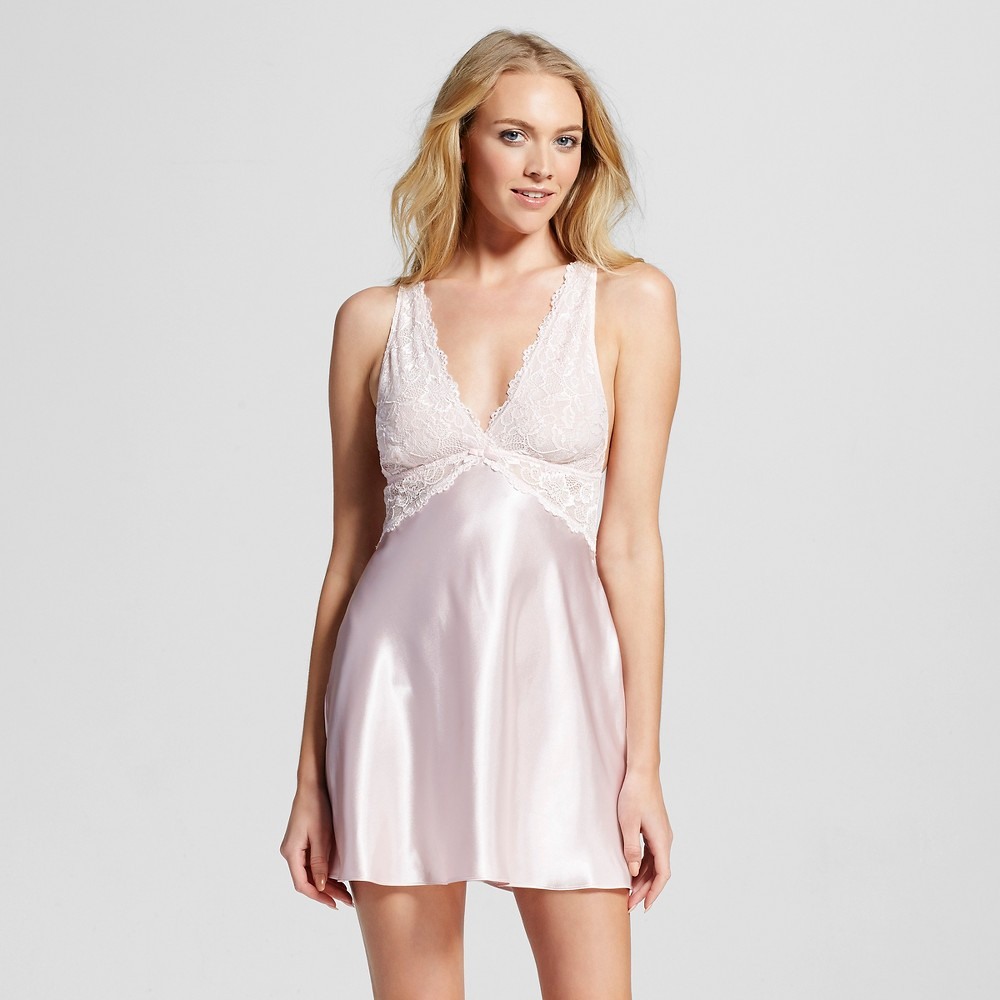 Womens Chemise Crystal Pink M