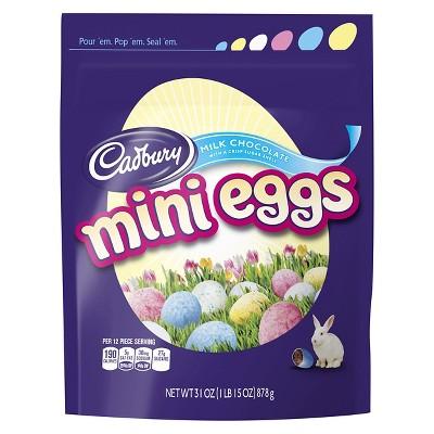 Cadbury Easter Milk Chocolate Candy Coated Mini Eggs, 31 oz