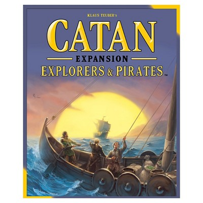 CatanExplorers & Pirates Expansion Pack Board Game