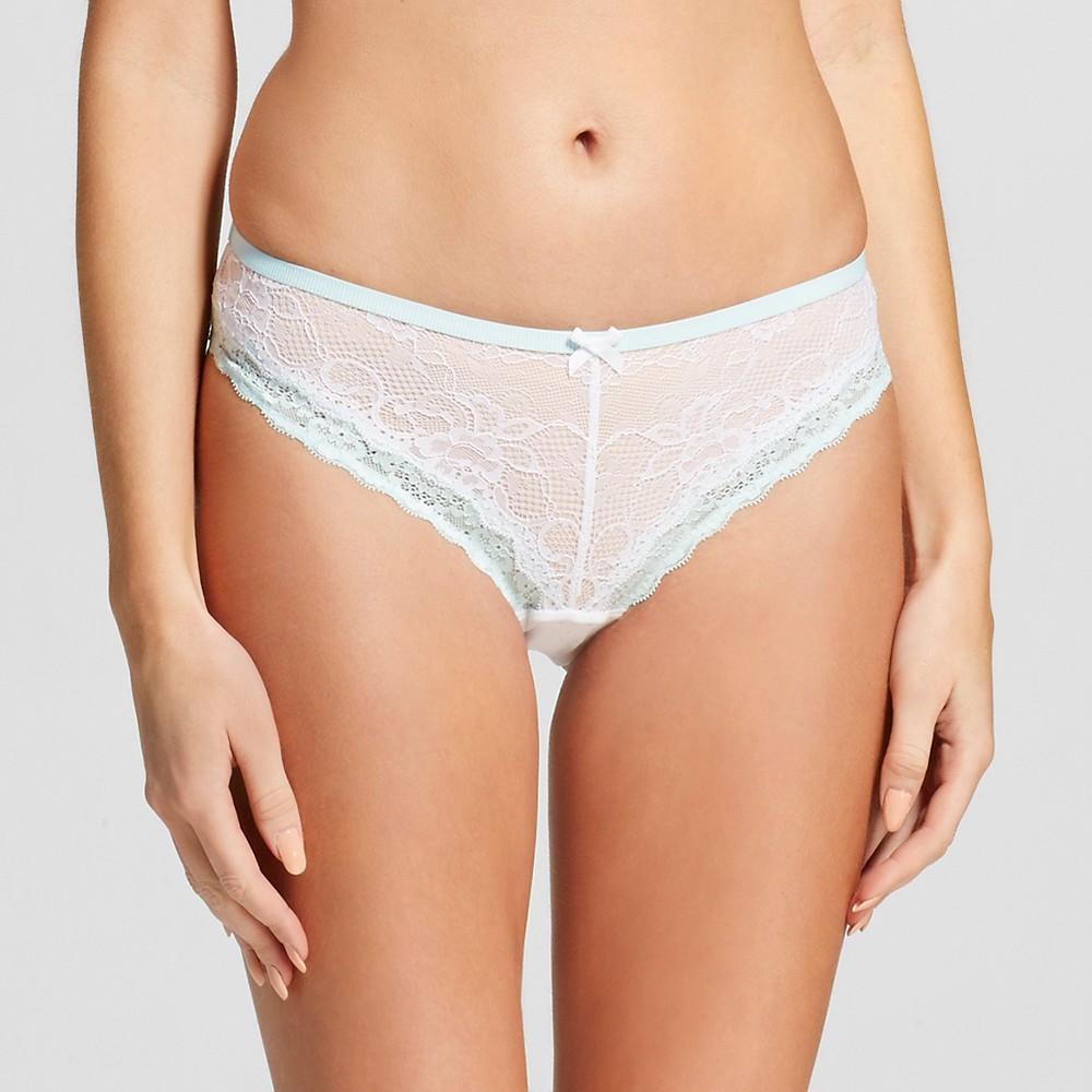 Womens Lace Bikini White XS