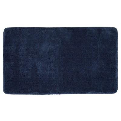 Mohawk Velveteen Bath Rug - Indigo (20 x34 )