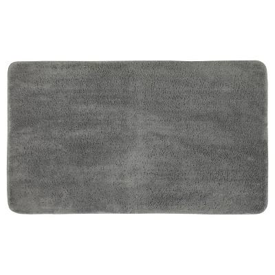 Mohawk Velveteen Bath Rug - Classic Gray (20 x34 )
