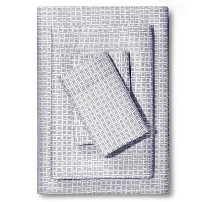 Microfiber Sheet Set Gray Mist (Twin)- Room Essentials™