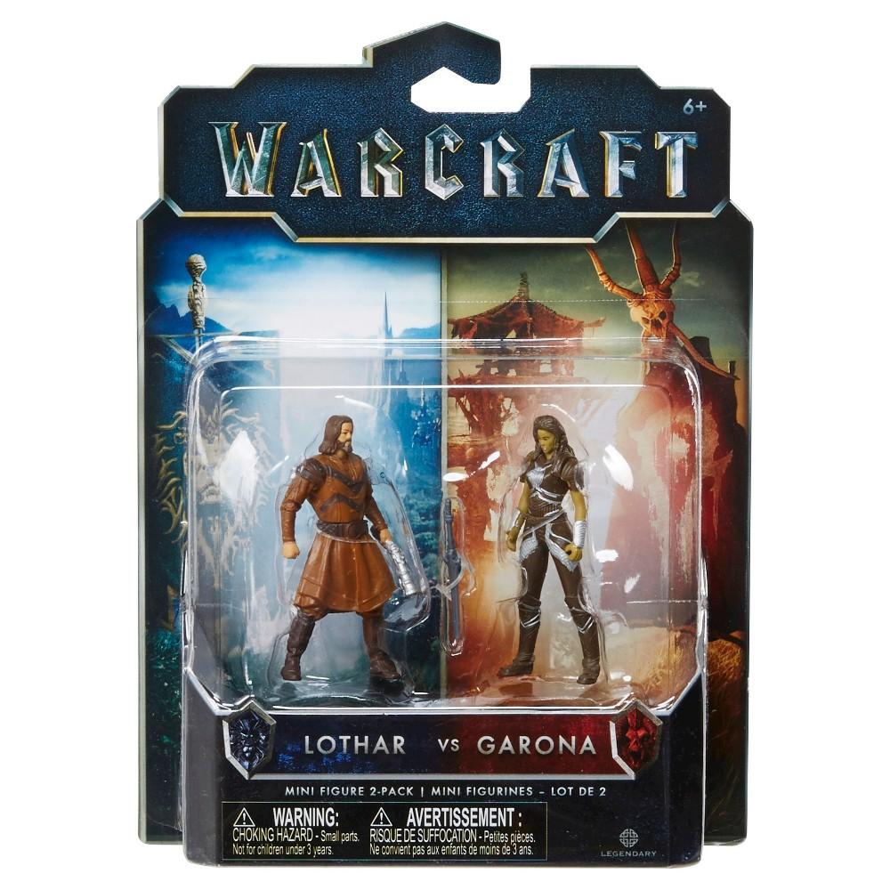 World of Warcraft Lothar vs Garona Mini Figure 2-Pack