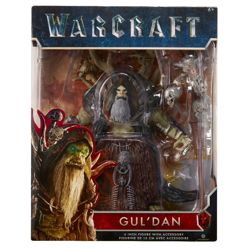 World of Warcraft Gul'Dan 6 Figure with Accessory