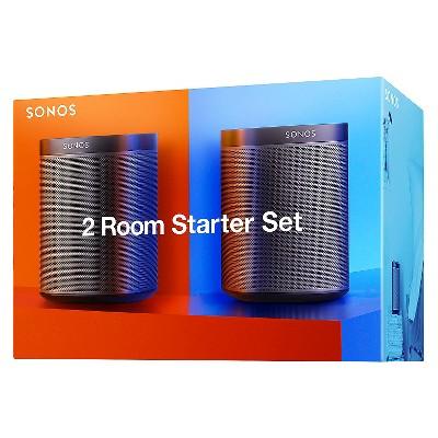 Sonos® 2 Room Starter Set Black