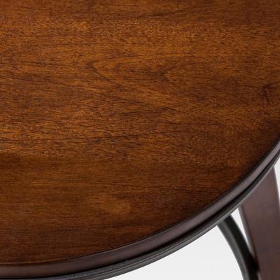 Modern Adjustable Barstool Brown   Threshold™