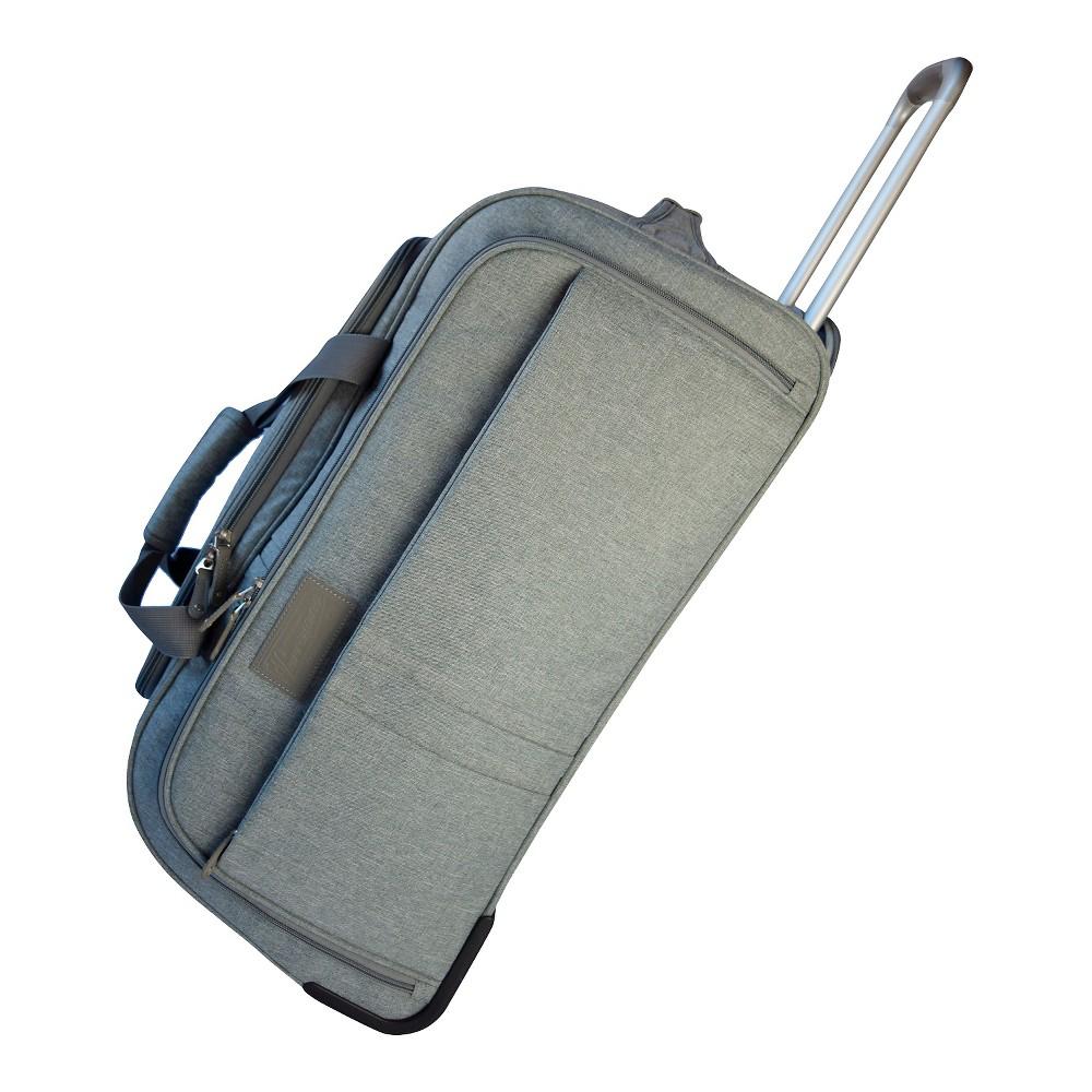 Verrazano 25 Rolling Duffel Bag, Gray