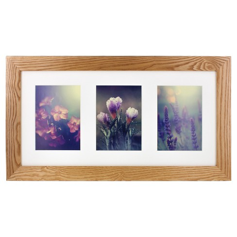 Multiple Image Frame Walnut 8x10 - Gallery Solutions - image 1 of 4