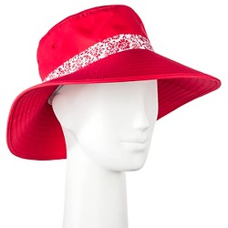 Women's Adjustable Hat with UV Protection Red - Merona™