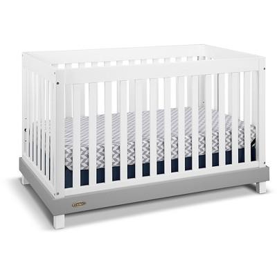 Graco® Maddox 3-in-1 Convertible Crib - White/Pebble Gray