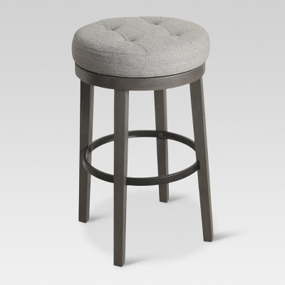 Calvert Tufted Swivel 29  Barstool ...  sc 1 st  Target & Calvert Tufted Swivel 29
