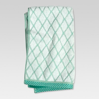 Hand Towels Geo Ikat Green - Threshold™