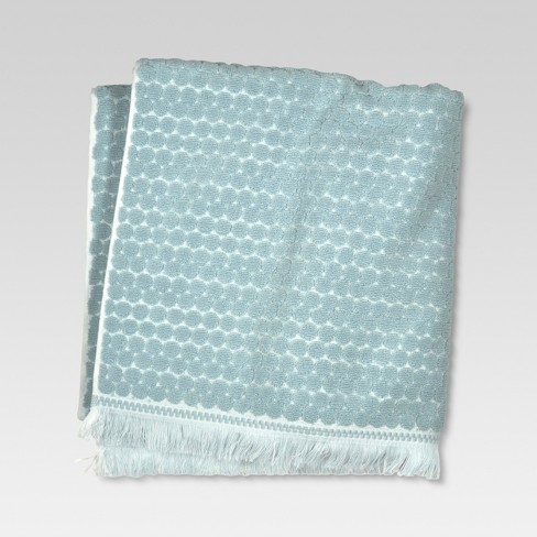 Bath Towels Penny Blue - Threshold™ - image 1 of 2