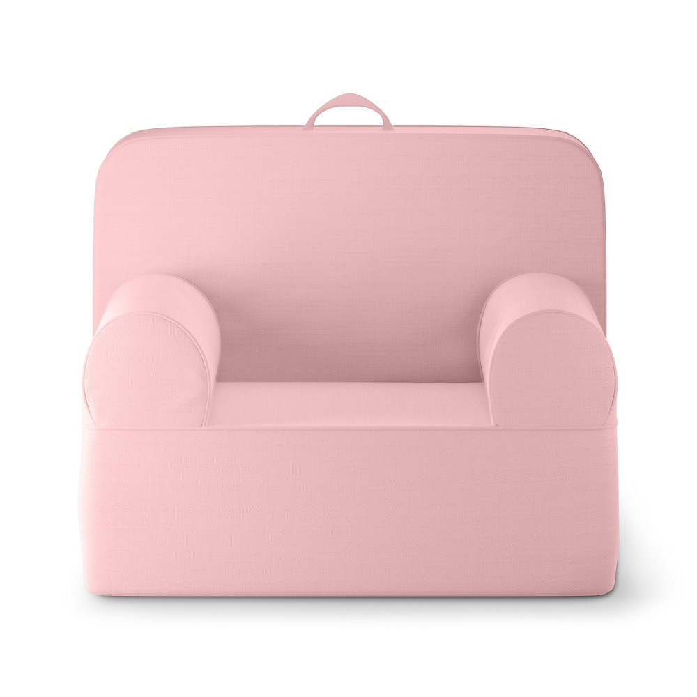Upc 650231980116 Product Image For Kids Upholstered Chair Medium Luna Lounger Daydream Pink