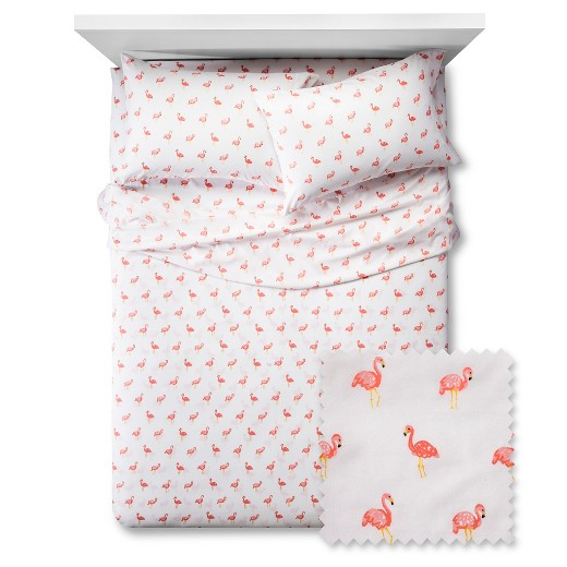Flamingos Sheet Set Pillowfort Target