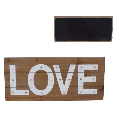 LOVE Light Up Wall Décor - Pillowfort™