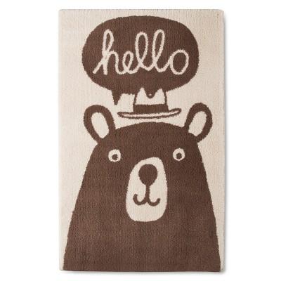 Bear Accent Rug - 30 x48  - Pillowfort™