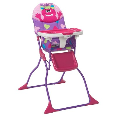 Cosco Simple Fold Deluxe High Chair – Monster Shelley