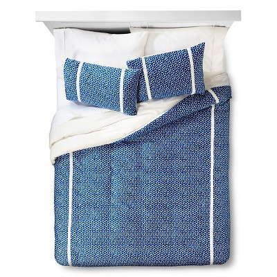 Blue Burst Medallion Duvet Cover Set (Full/Queen)3 Piece - Threshold™