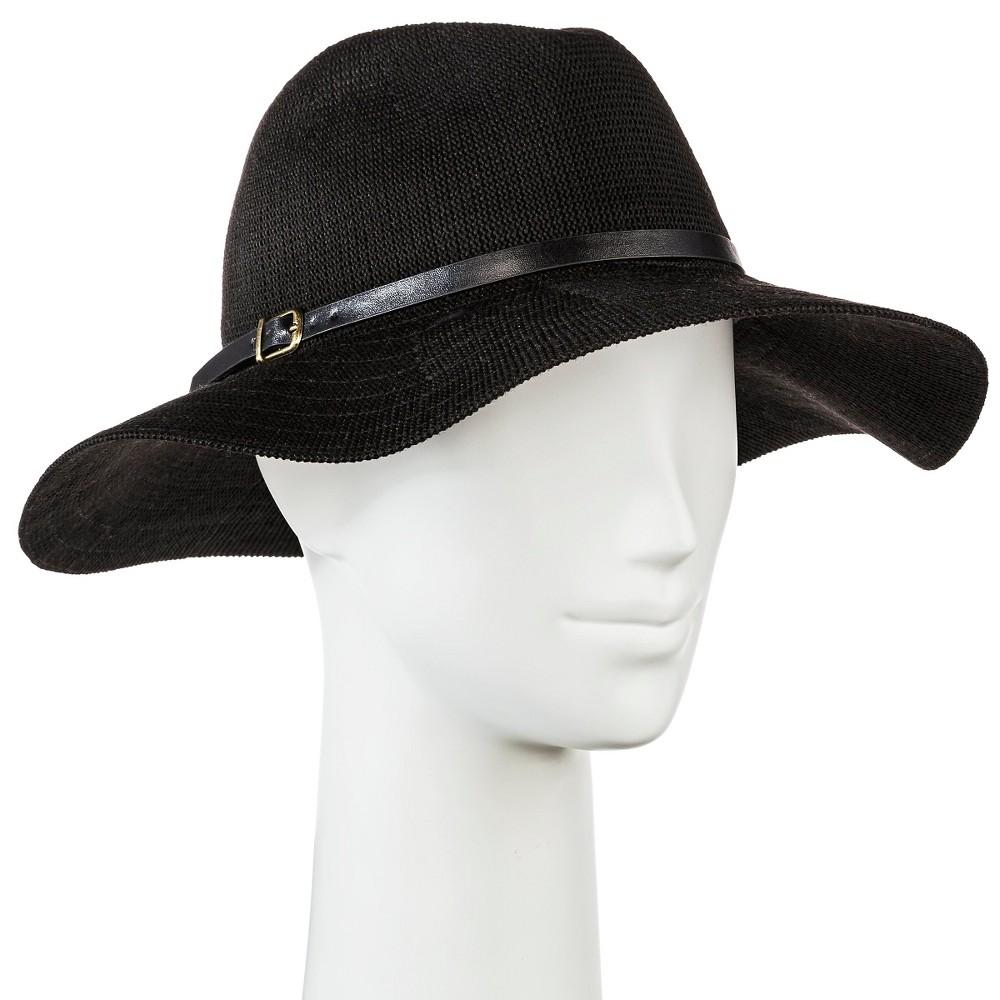Womens Floppy Hat - Merona, Black