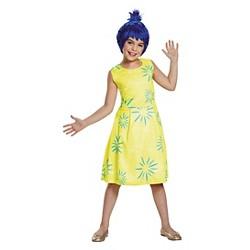 Disney Inside Out Girls' Joy Classic Costume