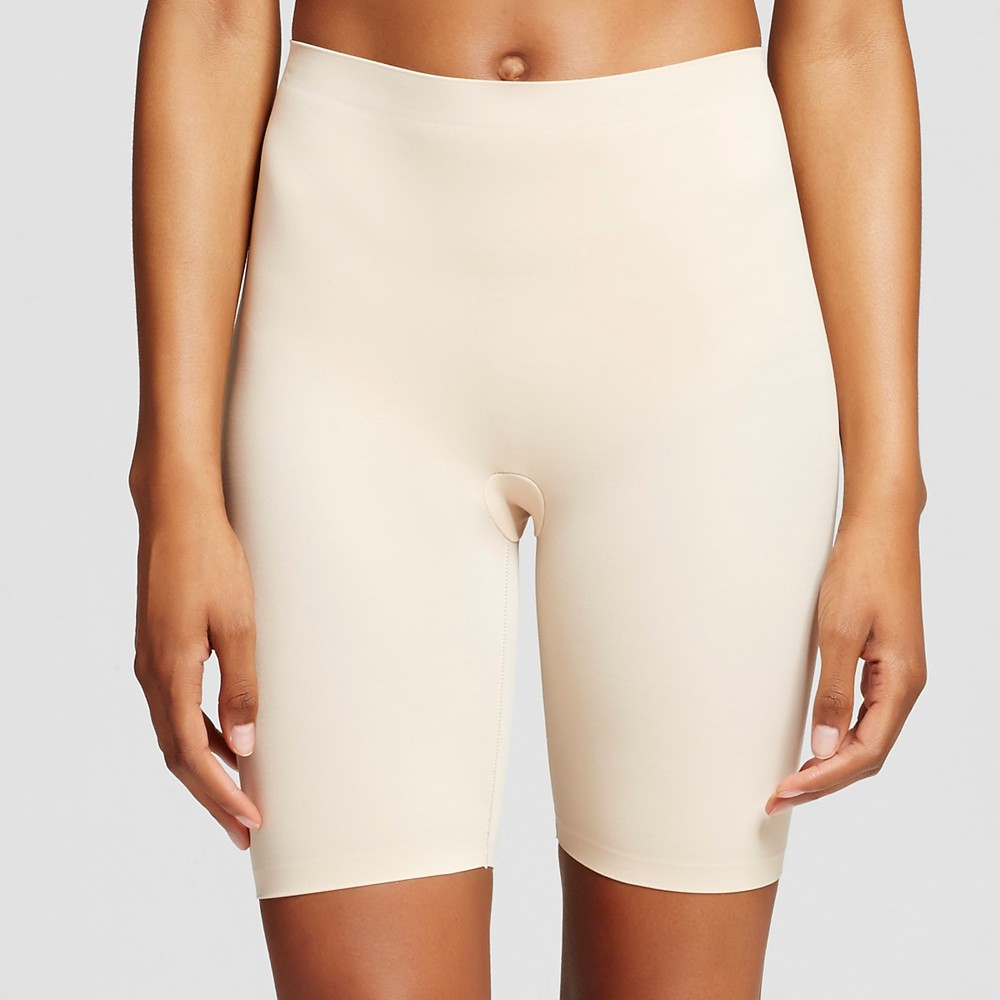 Maidenform Self Expressions Womens Thigh Slimmer with Comfort Waistband SE0035 - Latte 2XL, Size: Xxl, Beige