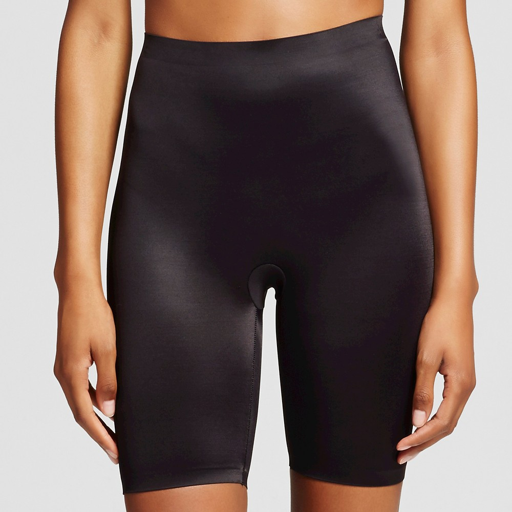 Maidenform Self Expressions Womens Thigh Slimmer with Comfort Waistband SE0035 - Black 2XL, Size: Xxl