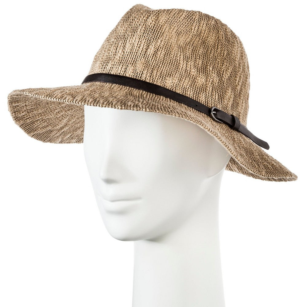 Womens Panama Hat Brown - Merona